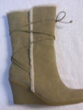 WOMEN'S JUDITH *WINDY* BOOTS  COLOR~ SAND  SIZE 9.5 M
