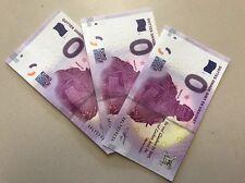 3 x limitierter Null Euro Schein Martin Luther 2017 Neu Bankfrisch 3 Scheine !!!