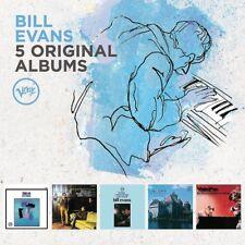 BILL EVANS - 5 ORIGINAL ALBUMS 5 CD NEUF (TRIO 64)