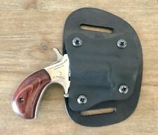 Holster For NAA .22 Mag 1 1/8 Barrel Kydex Hybrid Leather Hip
