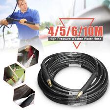 5//10//15//20M 1//4/'/' High Pressure Washer Hose Trigger Click For Karcher Cleaner IE