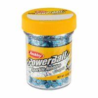 Berkley PowerBait Sparkle Crappie Nibbles, Dough, Blue Ice, 1.2 Oz.