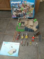 Boxed Playmobil Knights Fort Action Set 5863 + Extra Knight  Figure