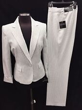 "KASPER PANT SUIT/NEW WITH TAG/SIZE 16/LINED/RETAIL$240/INSEAM32""/MACYS SUIT"