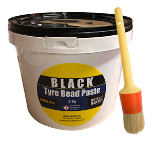 5KG Tyre Mounting Cream With Free Brush Black Tyre Bead Paste Tyre Changer