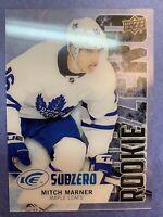 2016-17 Upper Deck Ice Subzero Rookie #SZ-75 Mitch Marner Toronto Maple Leafs RC
