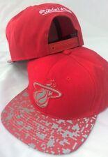 Miami Heat NBA Snapback Baseball Cap Mitchell & Ness - Unique Peak