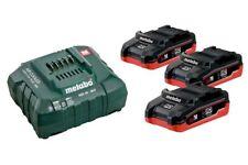 Metabo 18V Basis-Set 3x Akku LiHD 4,0 Ah + Ladegerät ASC 30-36 V im Karton