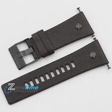Original DIESEL Replacement Watch Strap DZ7126 Dark Brown Genuine Leather 26mm