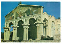 The Church of All Nations, Gethsemane, Jerusalem Israel, Palestine Rare Postcard