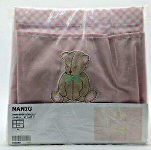 Ikea - NANIG  Baby Changing Organizer, PINK