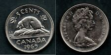 CANADA   5 CENTS 1965  PR. NEUF / A. UNC