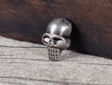 30pcs Punk Skull Head Leather Rivets Conchos for Bag Shoes Clothing Leathercraft