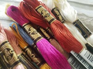 DMC 25 Embroidery Floss 8.7 yd Skeins YOU CHOOSE Your Lot Mouline Special