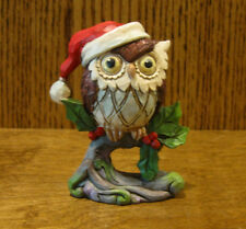 Jim Shore Heartwood Creek Mini 6001498 CHRISTMAS OWL ON BRANCH From Retail Store