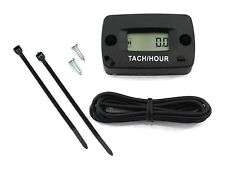 Resettable Tachometer / Hour Meter for Golf Carts ATV's Motorcycles & Dirt Bikes