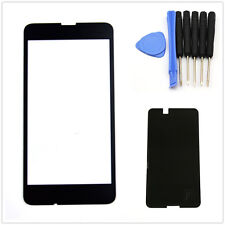 For Nokia Lumia 630 635 Front Outer Screen Glass Lens Replacement +Tool Adhesive