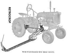 IH International & Farmall Cub 22 Sickle Bar Hay Mower Operator's Owners Manual
