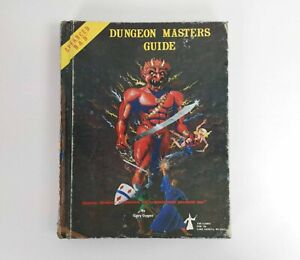 Dungeon Masters Guide Greg GYGAX. Advanced DUNGEON & DRAGONS Dec 1979 TSR Games