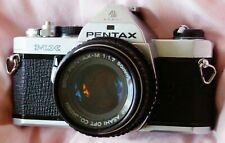 ASAHI PENTAX MX 35mm Film Camera with SMC PENTAX-M  1:1.7 / 50mm lens.