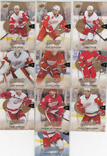 16/17 UD MVP Detroit Red Wings Team Set with SPs and RC - Zetterberg Tatar +