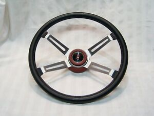 Oldsmobile 4 Spoke Sport Steering Wheel 1970-77  OEM GM   CUTLASS / 442