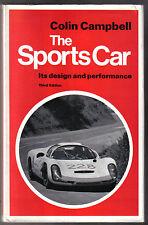 Sports CAR la sua progettazione e prestazioni da Colin Campbell tecnica LIBRO PUB. 1969