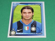 302 CRISTIAN CHIVU INTER MILAN UEFA PANINI FOOTBALL CHAMPIONS LEAGUE 2008 2009