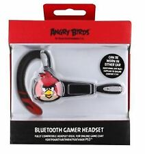 Angry Birds Ps3 Bluetooth Gaming Gamer Headset 35212
