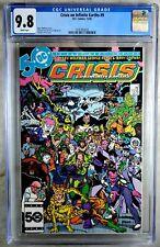 Crisis on Infinite Earths #9 D.C. DC 1985 CGC 9.8 NM/MT White Pages Comic Q0017