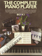 The complete piano player 1 sheet music book seulement apprendre à jouer méthode