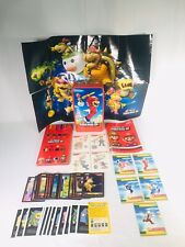 New Super Mario Bros Wii Trading Cards Remote Straps AR Cards Tattoos Misc. Lot