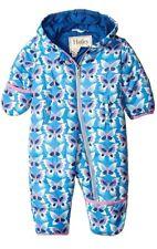 Hatley Baby Girls Winter Puffer Butterflies Blue 6 12 Months Snowsuit