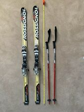 New listing Rossignol World Cup 9x 160cm Gs Skis with Dynastar Bindings and Atomic Poles