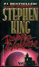 DOLORES CLAIBORNE by Stephen King (1993) Signet pb 1st