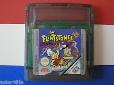 THE FLINTSTONES BURGERTIME IN BEDROCK - GAME BOY COLOUR - GBC