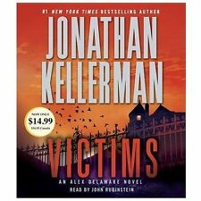 Alex Delaware: Victims by Jonathan Kellerman (2013, CD, Abridged)