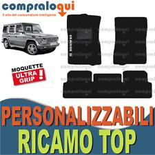 TAPPETINI per MERCEDES BENZ CLASSE G TAPPETI per AUTO su MISURA + RICAMO TOP