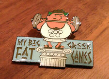 My Big Fat Greek Games Athens 2004 Weightlifting Pin