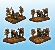 Forjado En Batalla polaco 81mm Mortar Platoon 15mm 1/100 Flames of War