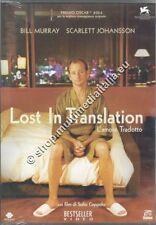 LOST IN TRANSLATION Bill Murray - DVD NUOVO!
