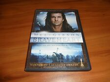 Braveheart (Dvd, 2007 2-Disc Widescreen Collectors Edition) Mel Gibson Used