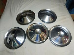 STUDEBAKER HUBCAPS 1954 AND 1955 SET OF 5