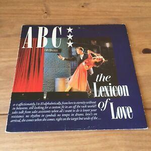 "ABC  - LEXICON OF LOVE (1982 12"" VINYL ALBUM) NEUTRON NTRS 1"