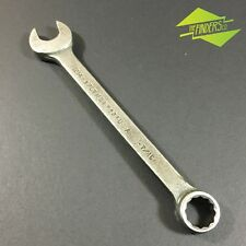 """VINTAGE PLVMB PLOMB USA MADE 7/16"""" WHITWORTH COMBINATION BOX SPANNER WRENCH"""