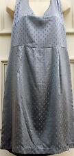 BNWT NOA NOA 'Ethnic Jacquard' BLUE Silk Fitted DRESS M/12  Sleeveless RRP £119