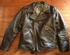 Eastman Leather ELMC Windward American Walnut HORSEHIDE jacket sz 44