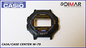 Box/Case Centre Casio W-79, NOS