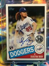 2020 Topps Retro 1985 Rookie Dustin May! WOW! SSP! HOT!