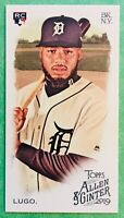 "2019 Allen & Ginter DAWEL LUGO ""Ginter Back Mini"" SP Rookie Card #208! TIGERS"